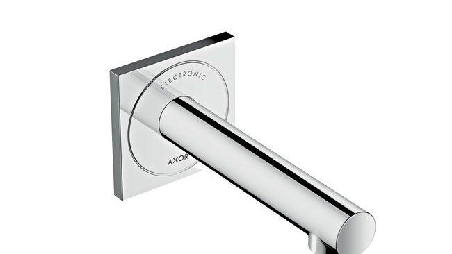 AXOR Uno Elektronische inbouw wastafelmengkraan 160 wandmontage