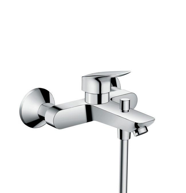 Hansgrohe Logis - ééngreeps badmengkraan opbouw